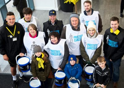 Prostate Cancer Awareness Campaign at Burton Albion 26 March 2016