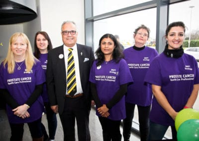 Prostate Cancer Awareness Campaign at Burton Albion Football Club 26 March 2016