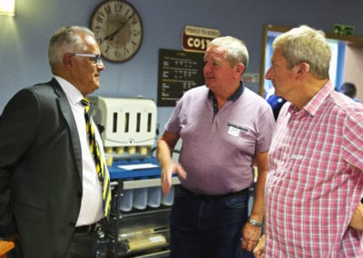 Brewers Chairman backs Prostate Cancer Support Group 3 July 2017