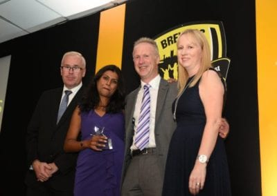 Burton Albion Community Trust Awareness Campaign of the Year 2016