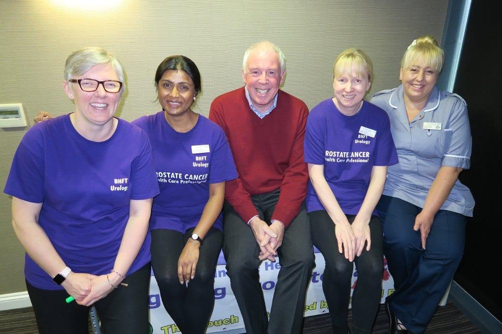 Prostate Cancer Screening with Derbyshire Freemasons 09 & 10 Nov 2017