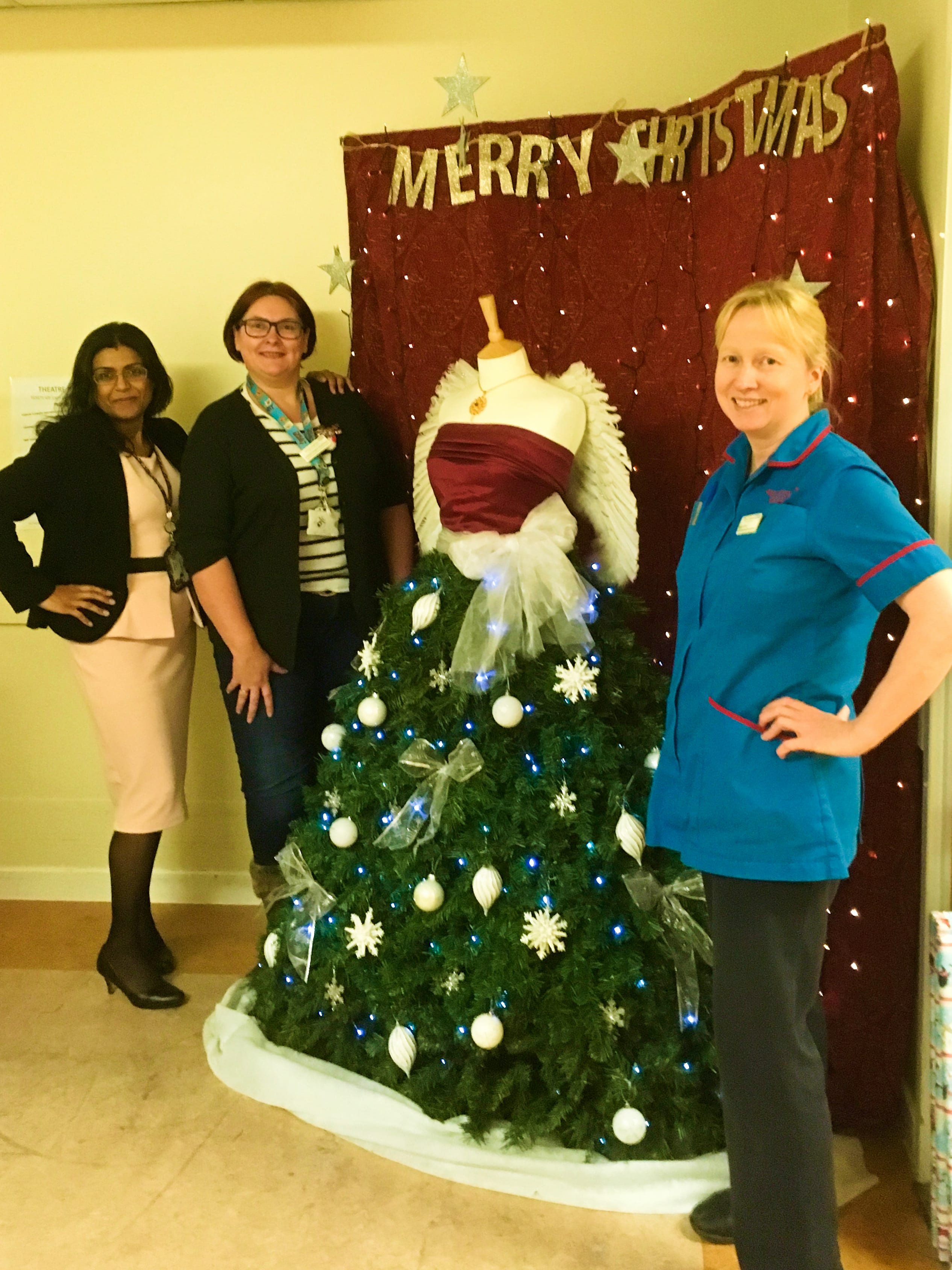 Burton Hospital Operating Theatres Christmas Fundraiser