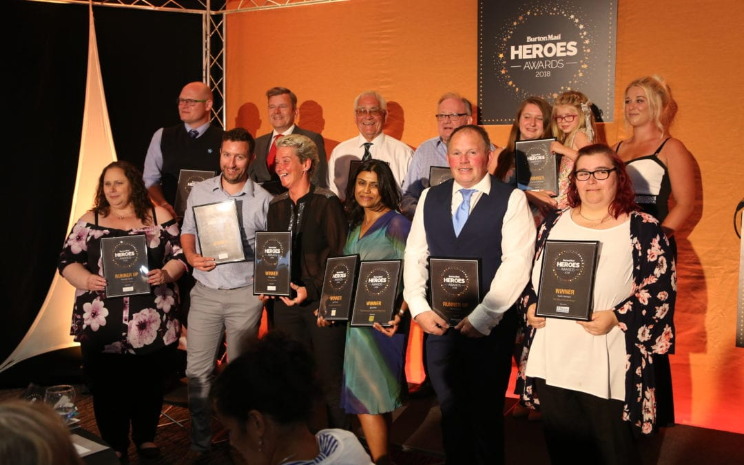 Burton Mail Heroes Awards –  a special thank you