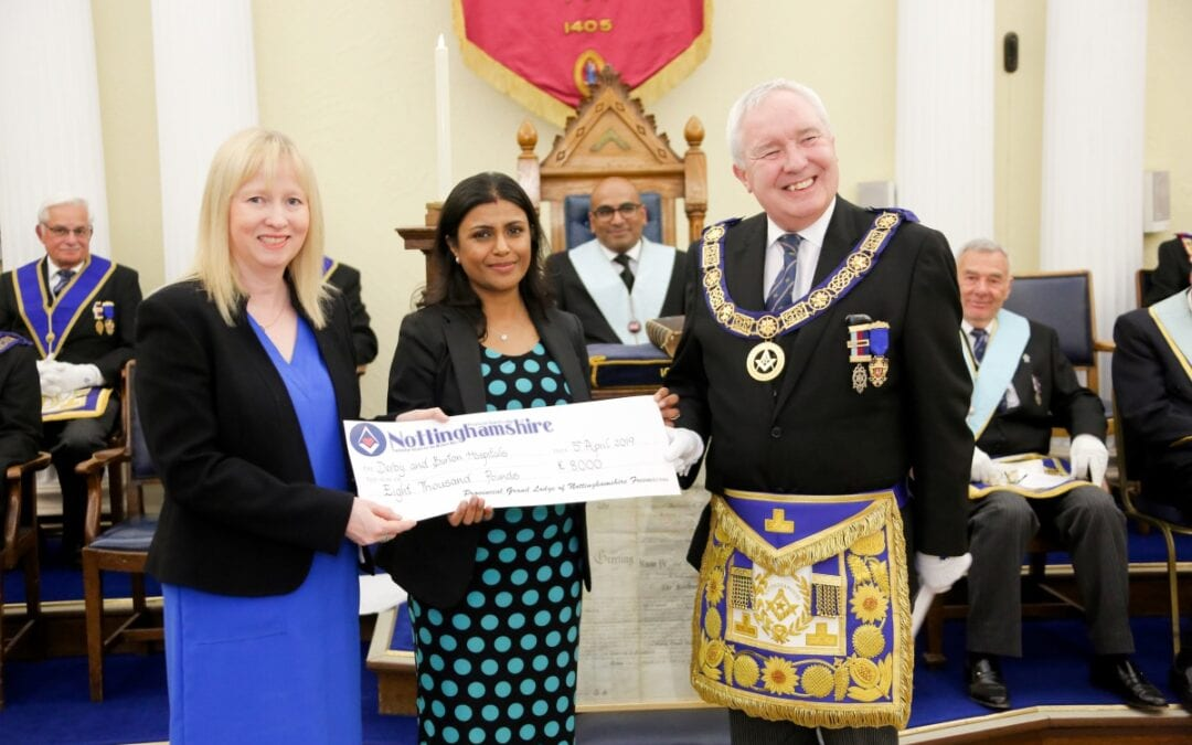 Special Fundraiser with the Nottinghamshire Freemasons