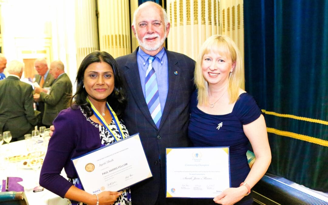 Rotary International Awards 10 May 2019
