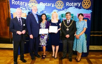 Rotary International Honours for Fighting Prostate Cancer